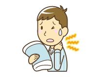 肩こり・頚椎ヘルニア・頭痛イラスト